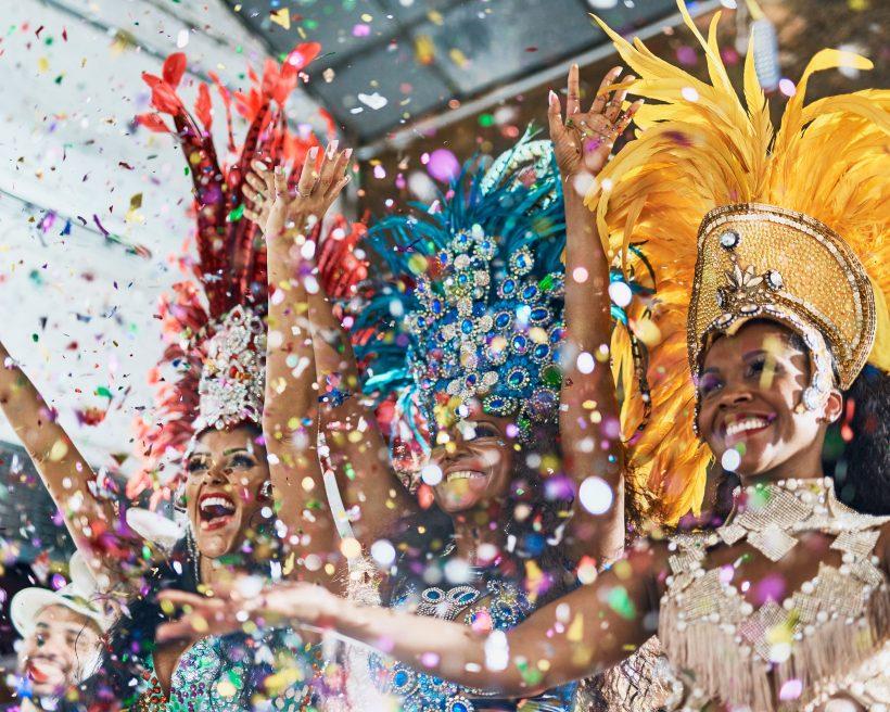 Carnaval en el Rio de Janeiro