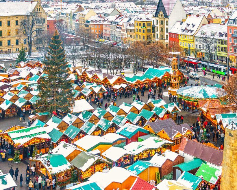 Erfurt durante la Navidad