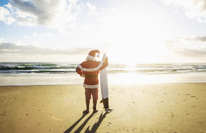 Fiesta y barbacoa navideña en Australia
