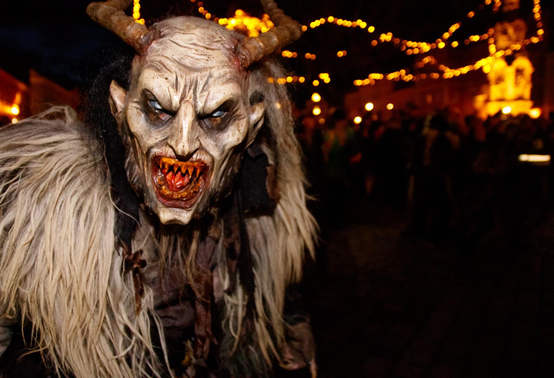 Con la misión de asustar a los niños, Krampus es de las tradiciones más aterradoras de Navidad