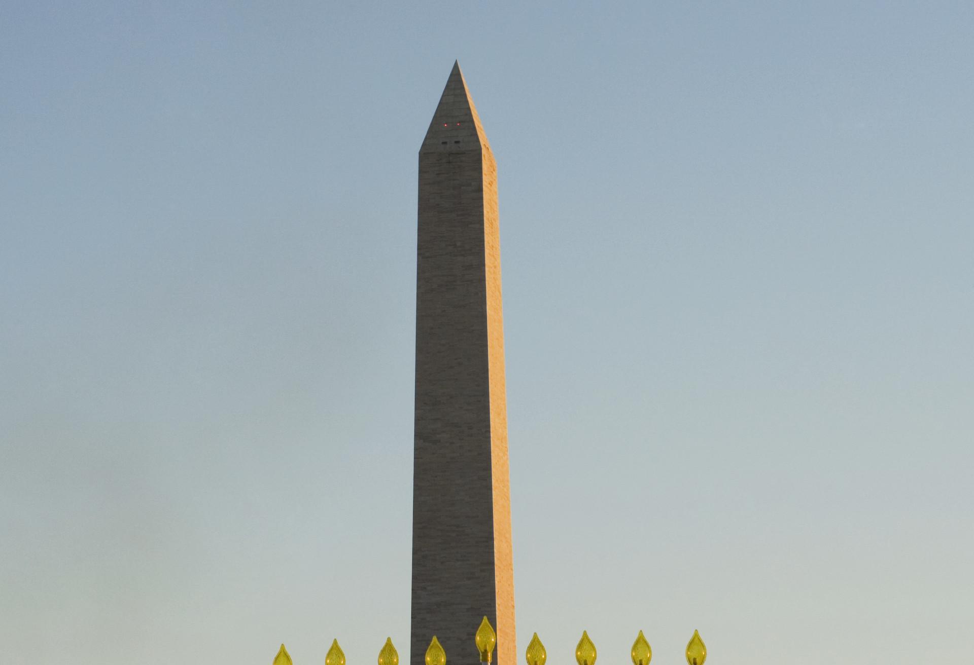 El encendido de la menorá en Washington D.C.