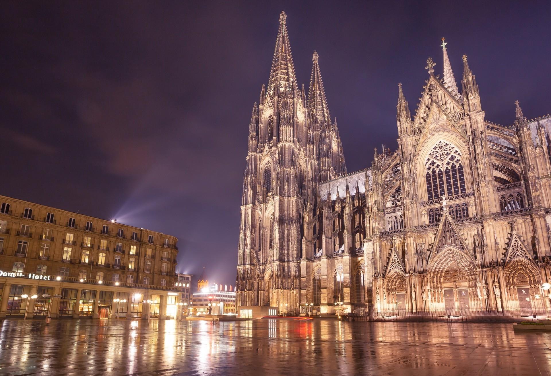 La impresionante Catedral de Colonia.